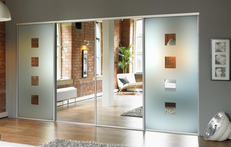 zerkalnye dveri kupe 3 - Идеи и советы для вашего ремонта