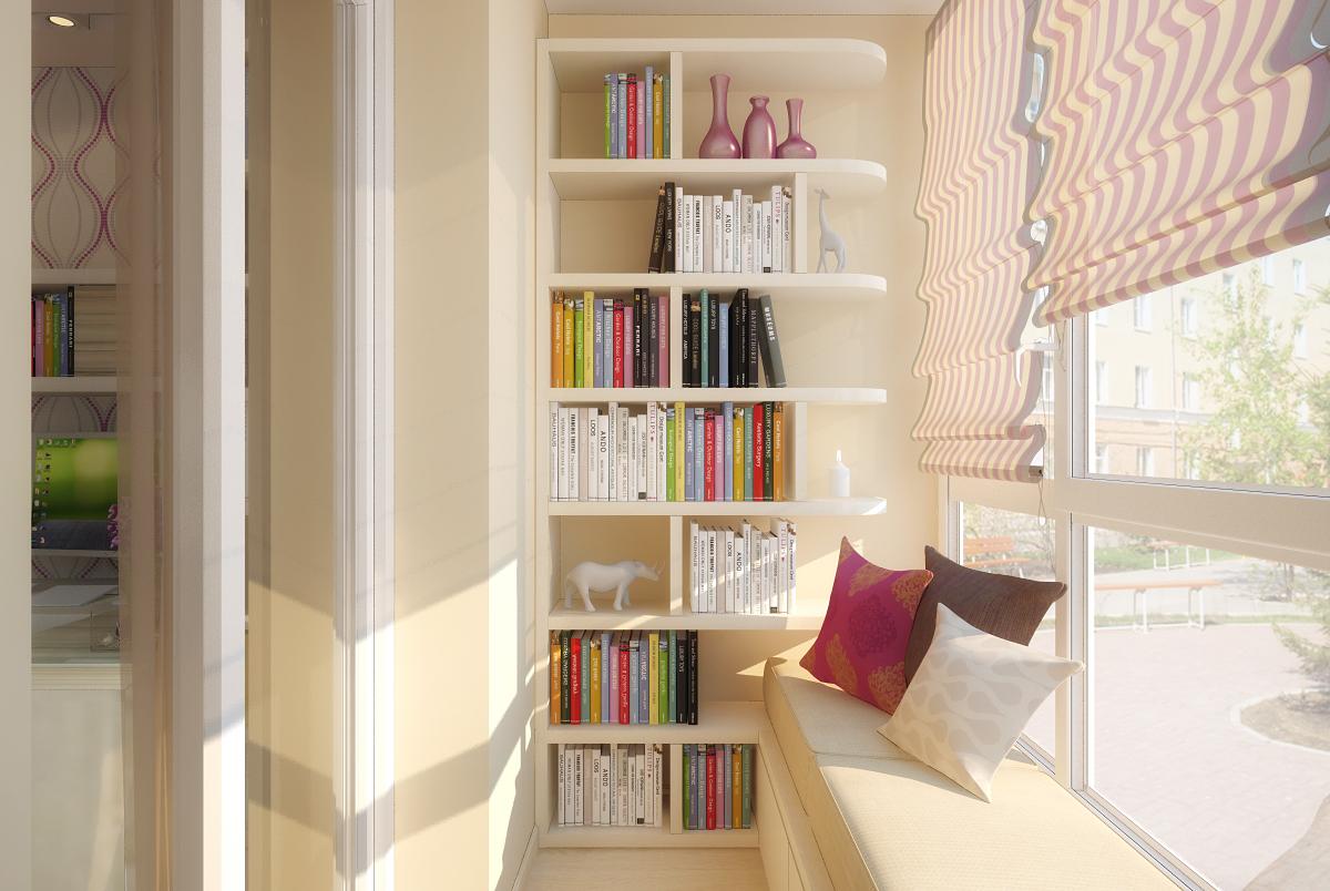 295 - Идеи для оформления балкона