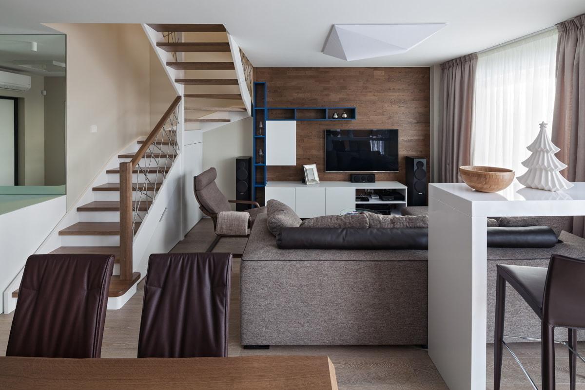 dizajn interera dvukhurovnevoj kvartiry 5d3f42527c4fc - Двухуровневая квартира