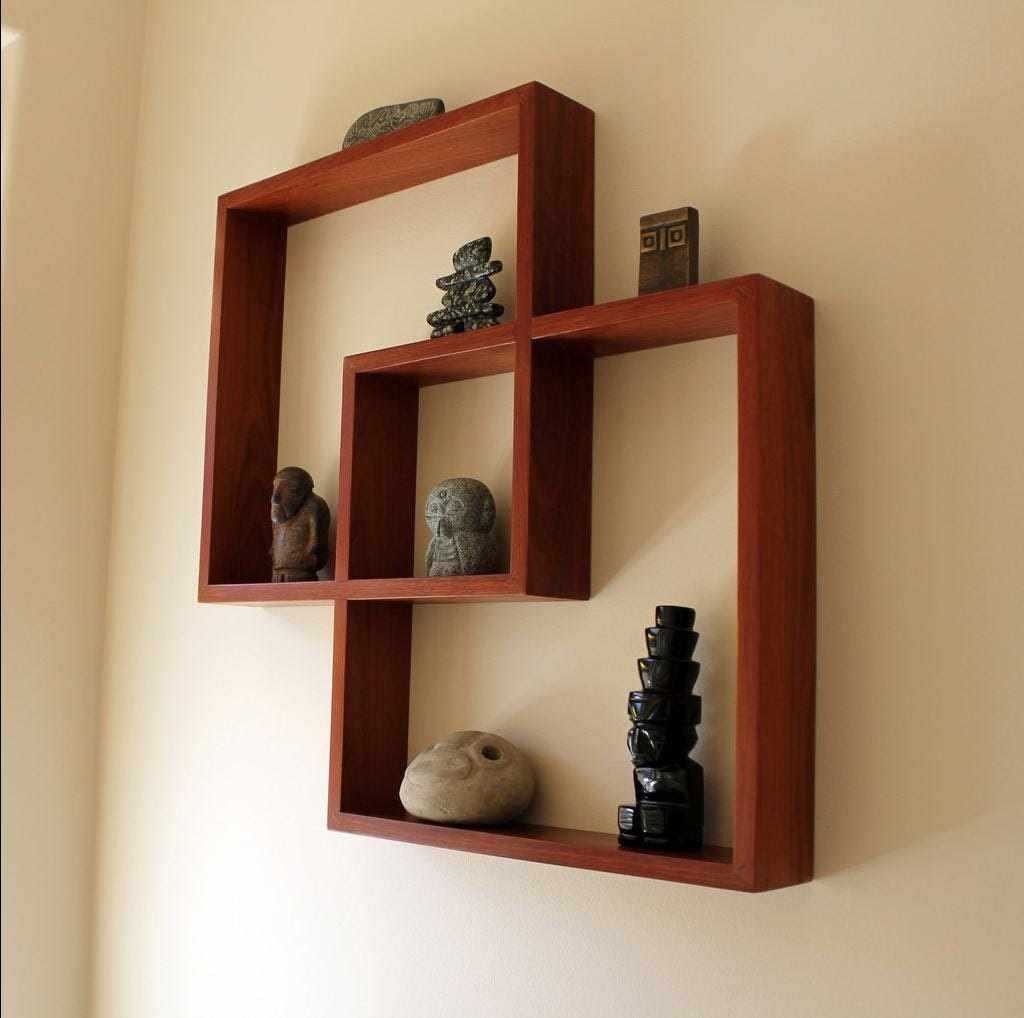 primer neobychnogo ukrasheniya dekora kvartiry - Идеи для оформления квартиры