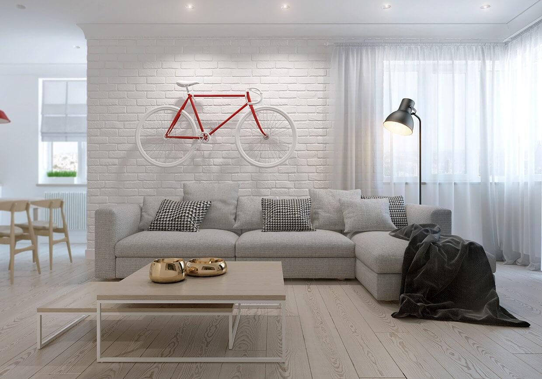 skandinavskij stil v interjere 1 - Натуральные материалы в отделке дома